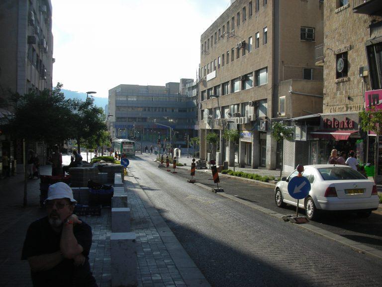 רחוב הרצל חיפה